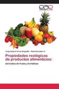 Propiedades Reologicas de Productos Alimenticios