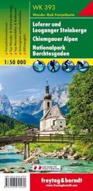 Loferer - Leogang - Steinberge - Berchtesgarden 1 : 50 000 Wanderkarte