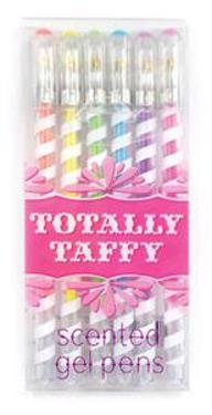 Totally Taffy Pastel Gel Pens - Set of 6