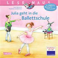 Julia geht in die Ballettschule