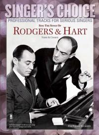 Sing the Songs of Rodgers & Hart: Singer's Choice - Professional Tracks for Serious Singers