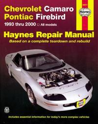 Chevrolet Camaro & Pontiac Firebird Automotive Repair Manual