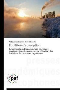 �quilibre d'Absorption