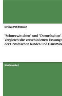 """""""Schneewittchen"""" Und """"Dornroschen"""" Im Vergleich"""