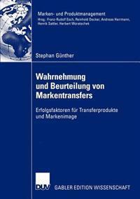 Wahrnehmung Und Beurteilung Von Markentransfers