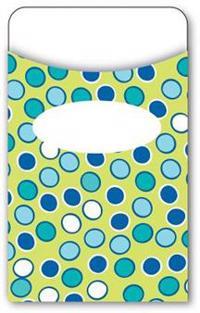 Bubbly Blues Library Pockets
