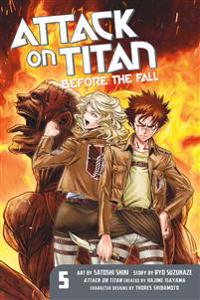 Attack on Titan: Before the Fall, Volume 5