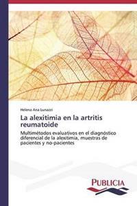 La Alexitimia En La Artritis Reumatoide