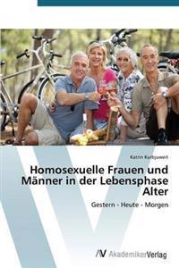 Homosexuelle Frauen Und Manner in Der Lebensphase Alter