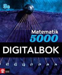 Matematik 5000 Kurs 3c Blå Lärobok Digital