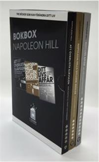 Napoleon Hill - Tre böcker som kan förändra ditt liv Samlarbox