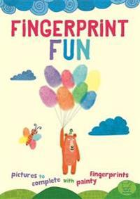 Fingerprint Fun: Pictures to Complete with Painty Fingertips