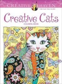 Creative Haven Creative Cats Coloring Book