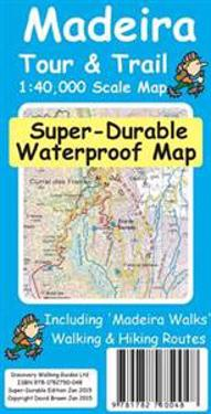 Madeira TourTrail Super-Durable Map