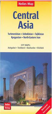 Central Asia Turkmenistan Uzbekistan Kyrgyzstan Maantiede