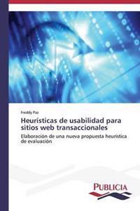 Heuristicas de Usabilidad Para Sitios Web Transaccionales