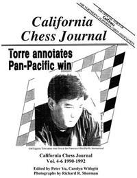 California Chess Journal Vol. 4-6 1990-1992