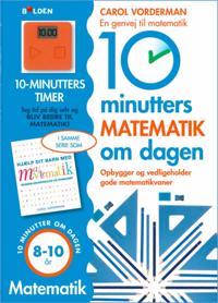 10 minutters matematik om dagen: 8-10 år