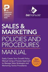 Sales & Marketing Policies and Procedures Manual