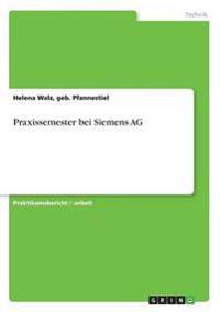 Praxissemester Bei Siemens AG