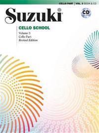 Suzuki Cello School, Vol 3: Cello Part, Book & CD
