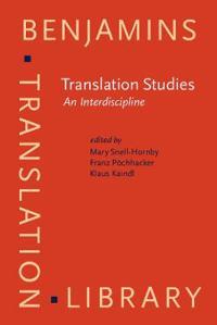 Translation Studies an Interdiscipline