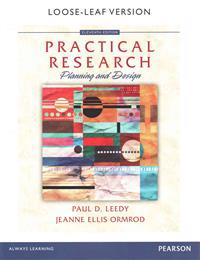 Practical Research: Planning and Design, Enhanced Pearson Etext with Loose-Leaf Version -- Access Card Package