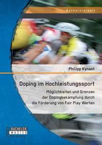 Doping Im Hochleistungssport