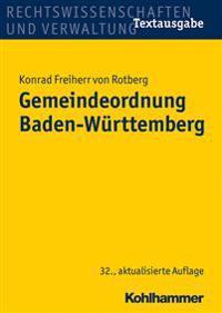 Gemeindeordnung Baden-Wurttemberg