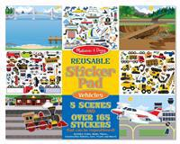 Reusable Sticker Pad Vehicles