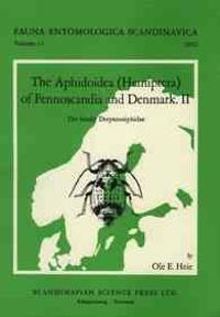 The Aphidoidea (Hemiptera) of Fennoscandia and Denmark, Volume 2. the Family Drepanosiphidae