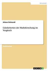 Gutekriterien Der Marktforschung Im Vergleich