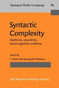 Syntactic Complexity