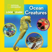 Look and Learn  Ocean Creatures - National Geographic Kids - böcker (9781426320637)     Bokhandel