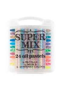 Super Mix Oil Pastels - Set of 24