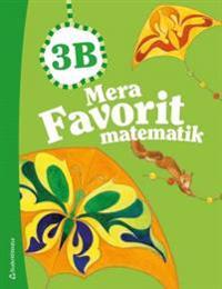 Mera Favorit matematik 3B - Elevpaket (Bok+digital produkt)