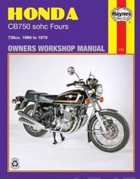 Honda 750 4 Cylinder Owner's Workshop Manual
