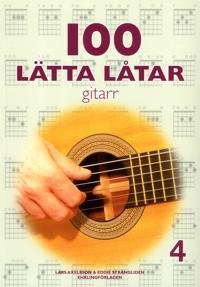 100 lätta låtar gitarr 4