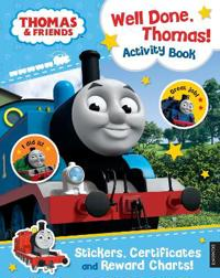 ThomasFriends: Well Done, Thomas! Activity Book