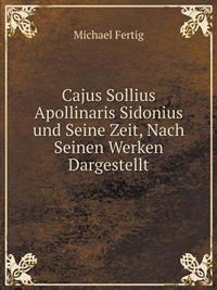Cajus Sollius Apollinaris Sidonius Und Seine Zeit, Nach Seinen Werken Dargestellt