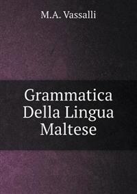 Grammatica Della Lingua Maltese