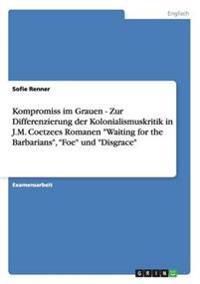 Kompromiss Im Grauen - Zur Differenzierung Der Kolonialismuskritik in J.M. Coetzees Romanen Waiting for the Barbarians, Foe Und Disgrace