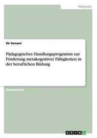 P dagogisches Handlungsprogramm Zur F rderung Metakognitiver F higkeiten in Der Beruflichen Bildung