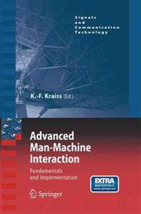 Advanced Man-Machine Interaction