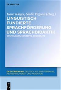 Linguistisch Fundierte Sprachf rderung Und Sprachdidaktik