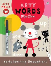 Arty words wipe clean