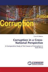 Corruption in a Cross-National Perspective