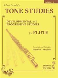 Tone Studies, Book 3: Developmental and Progressive Studies for Flute