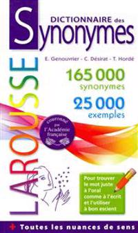 Dictionnaire Des Synonymes  / Dictionary of Synonyms