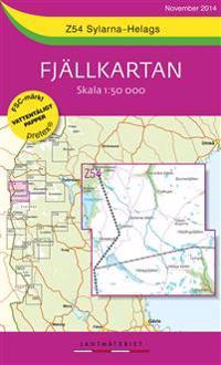 Z54 Sylarna-Helags Fjällkartan : 1:50000